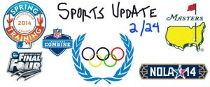 Sports update blog